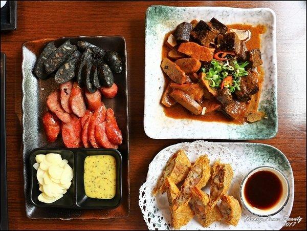 公益路聚餐│茶香水舍人文茶館