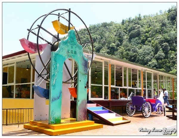 南投埔里新地標:大黑松小倆口—愛情故事館、月老教堂