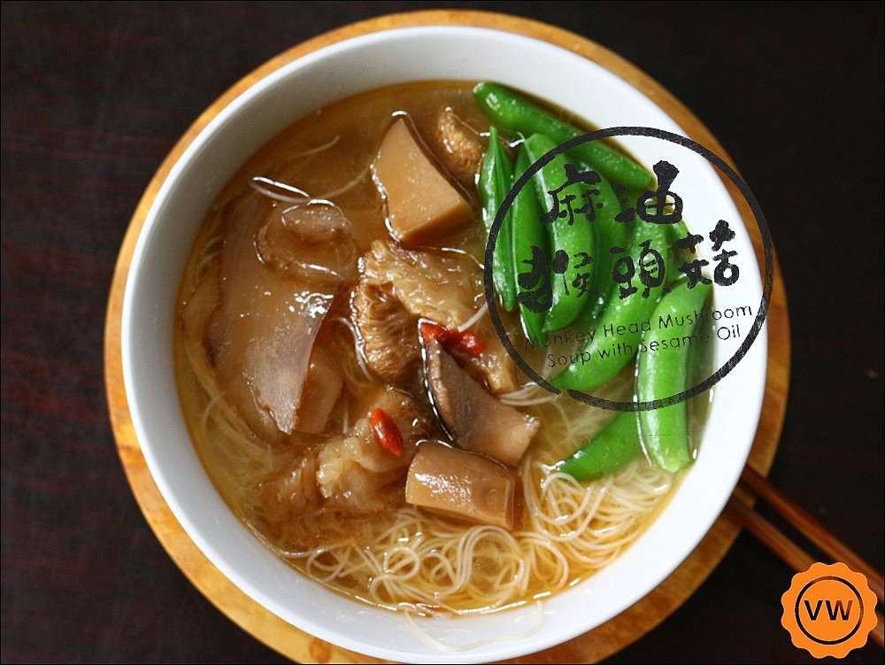 宅配美食│福記冷凍食品-麻油猴頭菇