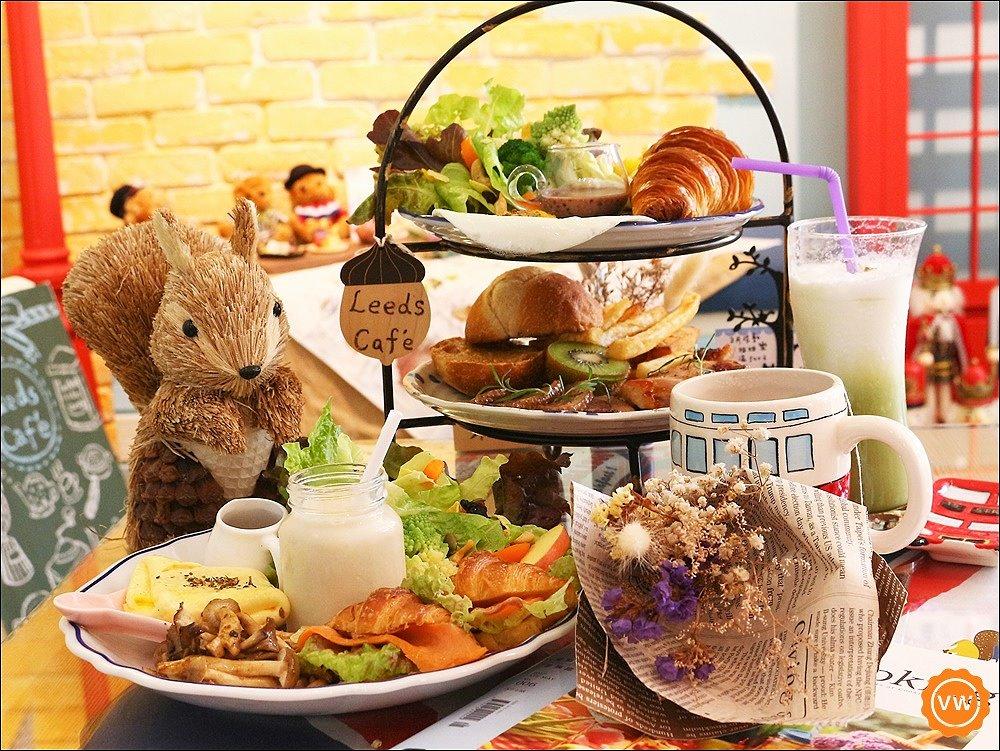 台中美食│西屯早午餐│巷弄美食:栗子窩LeedsCaf'e