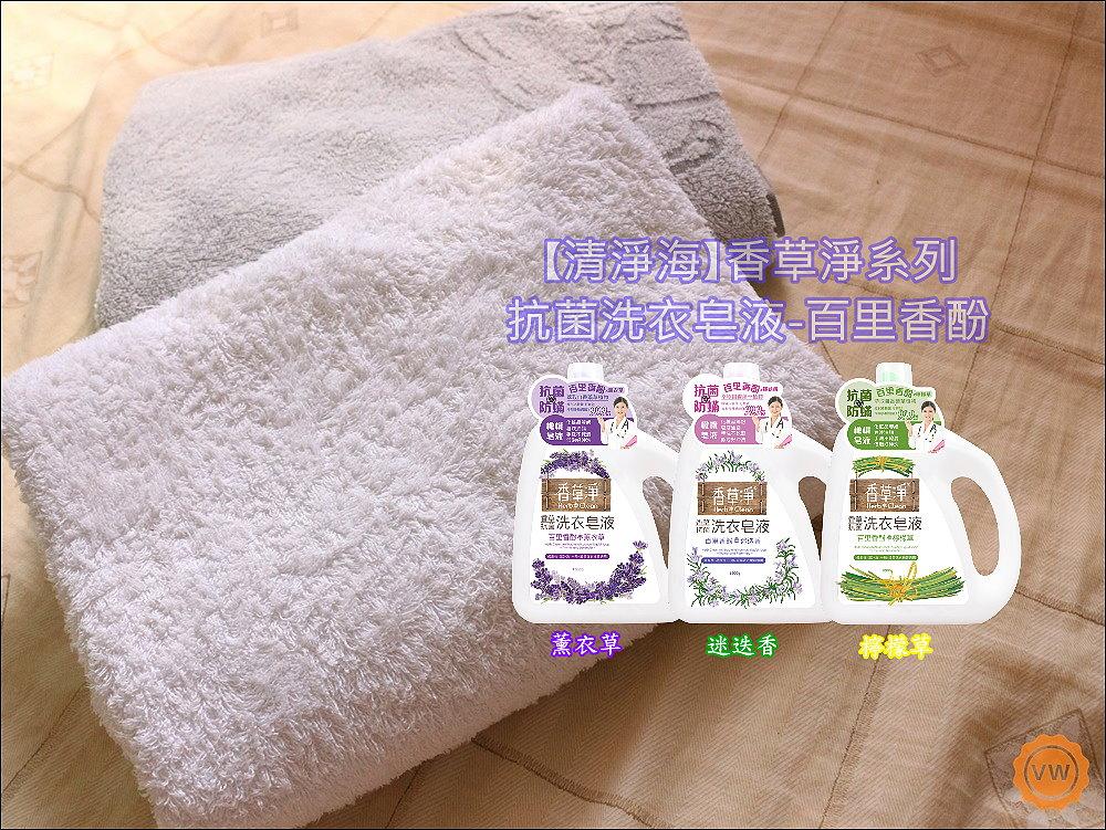 清淨海-香草淨系列抗菌洗衣皂液-百里香酚